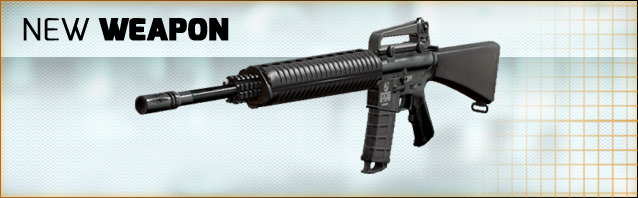 New weapon in the shop: M16A3