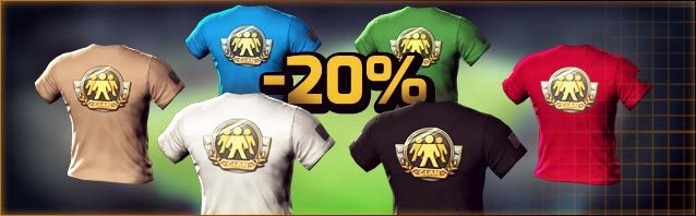 Everything for your clan, heavily reduced!