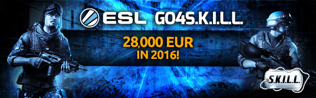 Go4S.K.I.L.L. 2016: over €28,000 in prize money