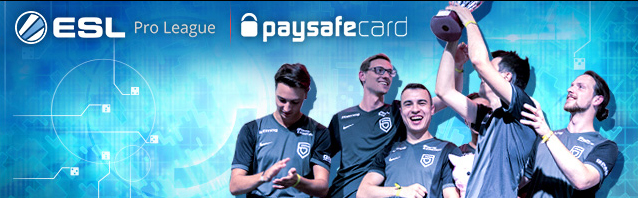 4 Teams in the ESL TV Studio – presented by paysafecard