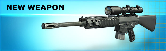 A new sniper rifle: SR-25!