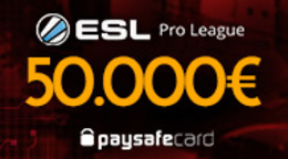 Incredible – over €50,000 in the ESL Pro League prize pot!